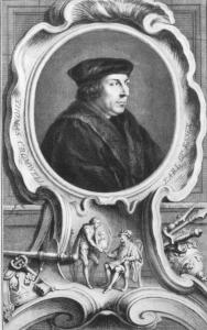 Thomas Cromwell by Jacobus Houbraken (© Palace of Westminster)