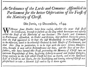 Christmas 1644 Rushwortha