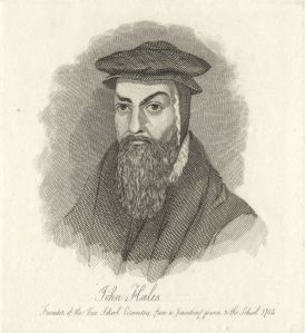 John Hales by Mary Dawson Turner (née Palgrave), after Unknown artist. Etching, 1825 or before. (C) National Portrait Gallery, London.
