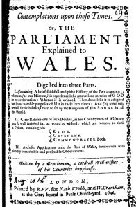 Title Page, John Lewis 'Contemplations', 1st edition, 1646