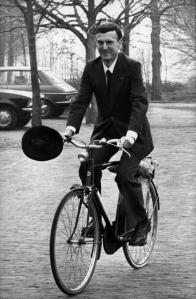 Willem Drees Jr, Parliamentary leader of the Dutch party Democratic Socialists '70 (C Nationaal Archief)