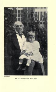 William Glynne Charles Gladstone with his famous grandfather