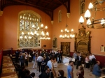 Reception in the Old Rolls' Chapel, KCL