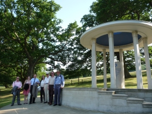 ICHRPI group at Magna Carta memorial