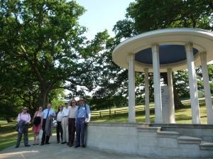 ICHRPI group at Magna Carta memorial