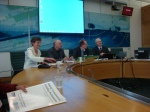One of our sessions at Portcullis House