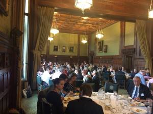 Conference dinner in the Members' Dining Room, Palace of Westminster