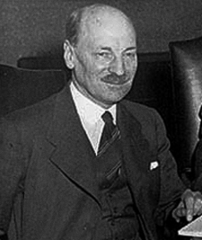 Clement Attlee, Labour Prime Minister 1945-51