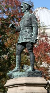 Lord Ninian Crichton-Stuart at Gorsedd Gardens, Cardiff ((c) Darren Wyn Rees at Aberdare Blog, via Wikimedia Commons)
