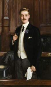 The Honourable Thomas Charles Reginald Robartes (1880–1915), MP by Richard Jack NT; (c) V. Michael Whitehead (grandson); Supplied by The Public Catalogue Foundation
