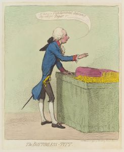 William Pitt the Younger, by James Gillray, © National Portrait Gallery