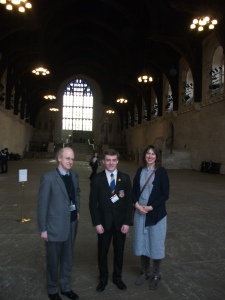 In Westminster Hall