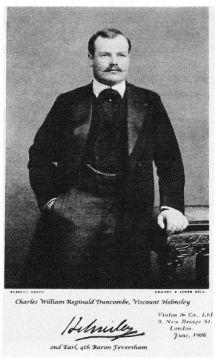 Charles William Reginald Duncombe, 2nd Earl of Feversham