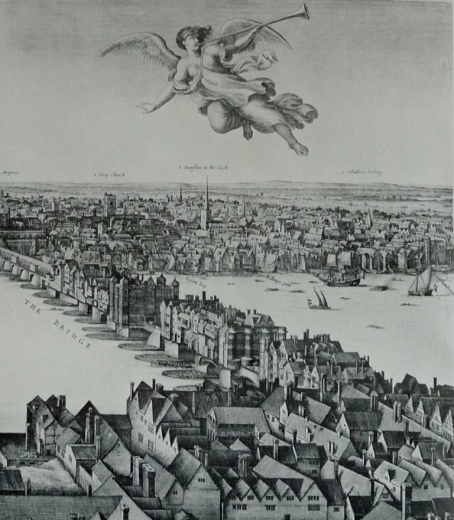 Hollar London panorama (detail)
