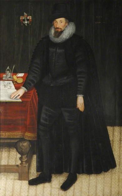Sir William Paddy (Marcus Gheeraerts II)