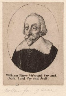 NPG D7971,William Fiennes, 1st Viscount Saye and Sele,by Wenceslaus Hollar