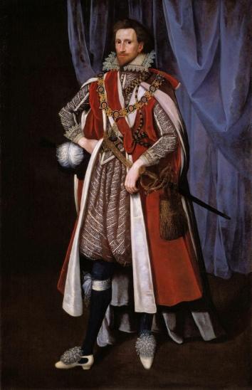 Philip Herbert, earl of Montgomery (attrib. William Larkin, c.1615)