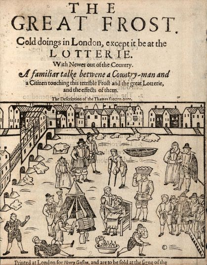 Thames frost fair, 1608 (Houghton, STC 11403)
