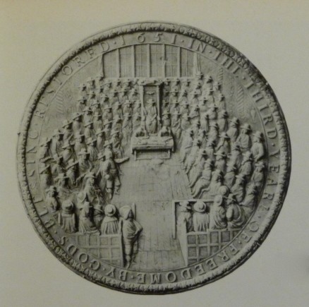 Commonwealth seal 1651