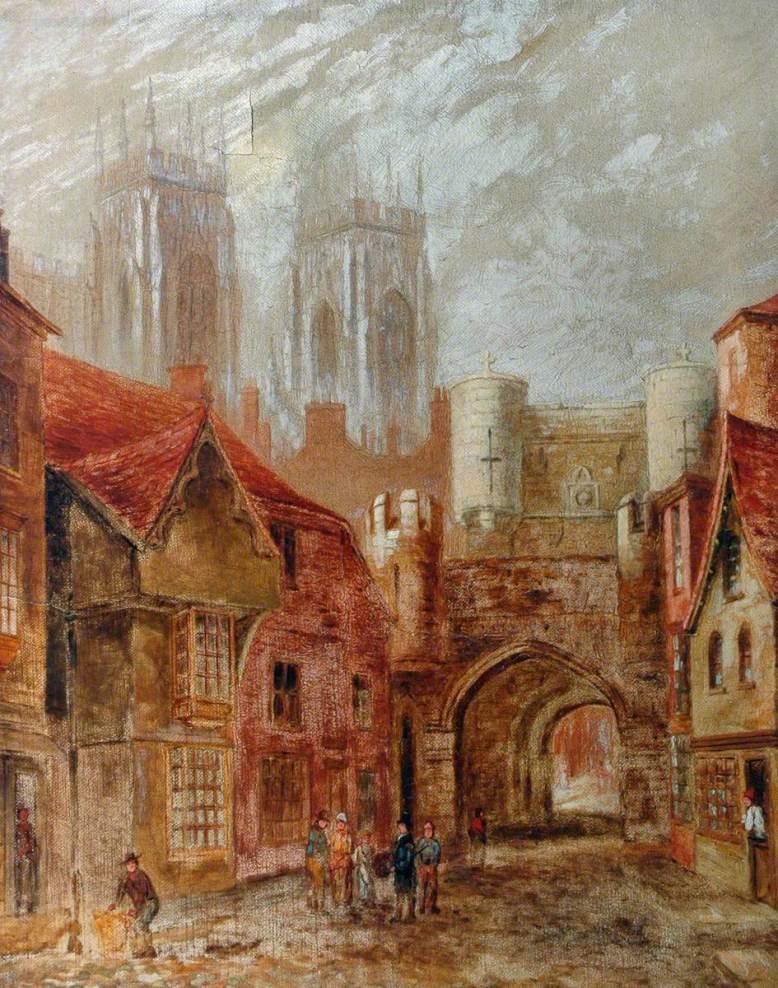 British (English) School; Bootham Bar, York